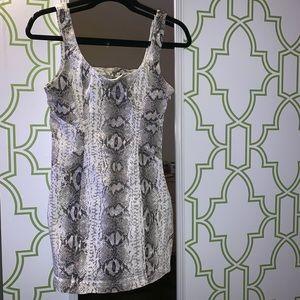 Dresses & Skirts - Tight snakeskin dress